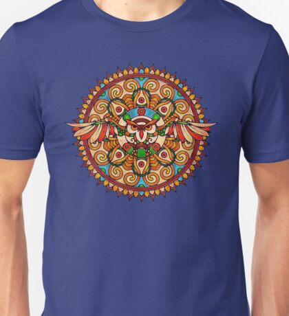 The Painted Owl Unisex T-Shirt