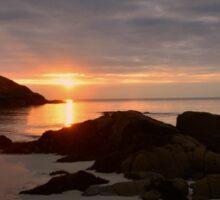 Achmelvich Beach, Sutherland, Scotland. Sticker