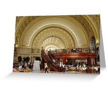 "Union Station Washington DC USA(""*Best Viewed Large*"") Greeting Card"