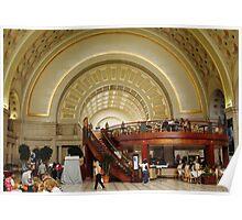 "Union Station Washington DC USA(""*Best Viewed Large*"") Poster"