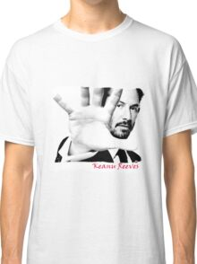 Keanu Reeves (Black and White) var1 Classic T-Shirt