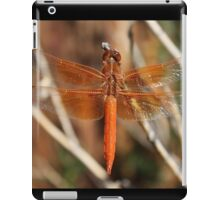 Red Dragonfly Wings iPad Case/Skin