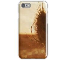 Thistle on the Beach iPhone Case/Skin