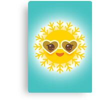 Lovely Sun Canvas Print