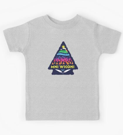 Mni Wiconi Shirt Kids Tee