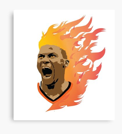 Super Saiyan Westbrook Metal Print