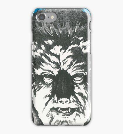 Wolf Man iPhone Case/Skin