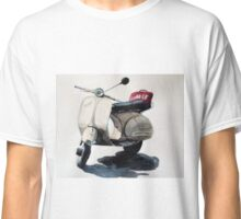 Vespa scooter in Rome Classic T-Shirt