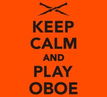 Keep calm and Play Oboe Kids Clothes