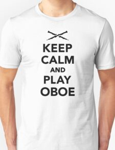 Keep calm and Play Oboe T-Shirt