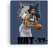 Karl Anthony Towns Minnesota Timberwolves Canvas Print