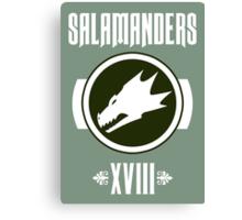 Salamanders XVIII - Warhammer Canvas Print