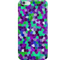 Mosaic Texture Stained Glass iPhone Case/Skin