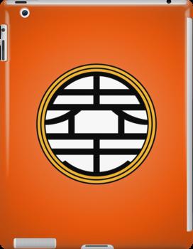 DBZ - Goku's Shirt - King Kai Symbol by Loftworks