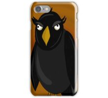 Halloween - old black raven  iPhone Case/Skin