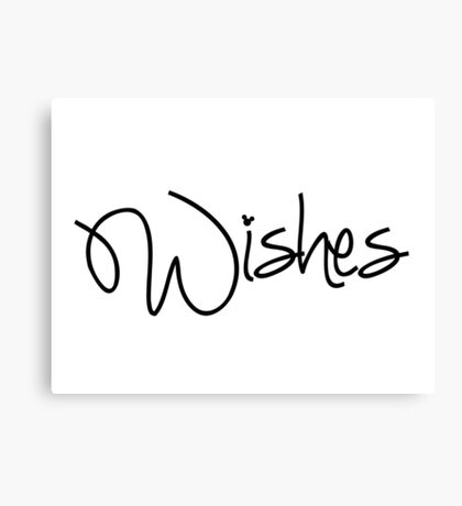 Wishes! Canvas Print