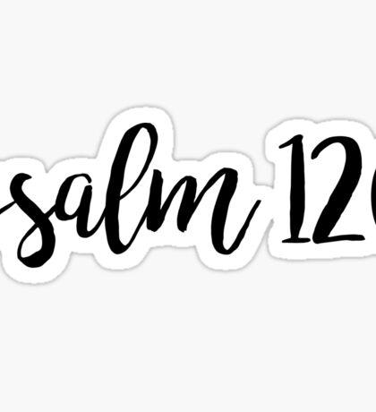 Psalm 120 Sticker
