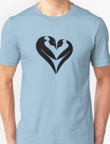 Penguin Heart Unisex T-Shirt