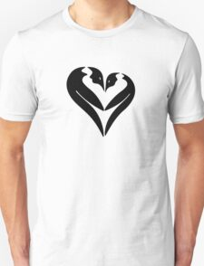 Penguin Heart Unisex T-Shirt
