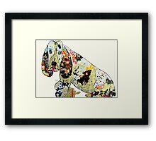 jazzberry hound  Framed Print