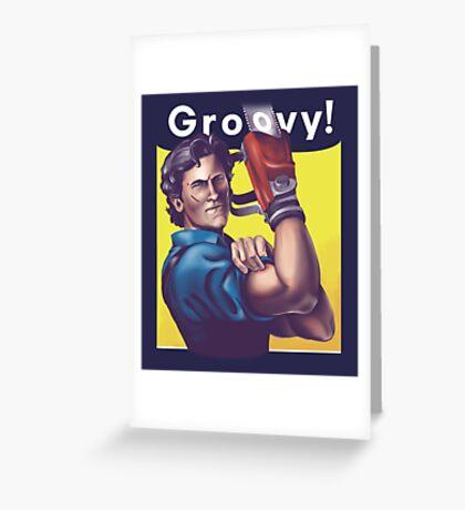 Groovy! Greeting Card