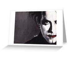 DISINTEGRATE - Robert Smith Greeting Card