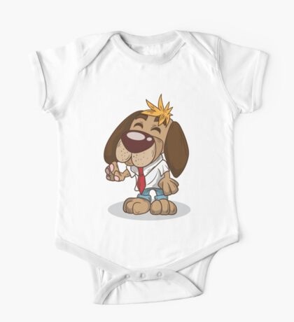 Chilled out Dog One Piece - Short Sleeve