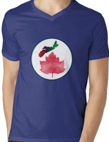 I Love Nova Scotia Canada Mens V-Neck T-Shirt
