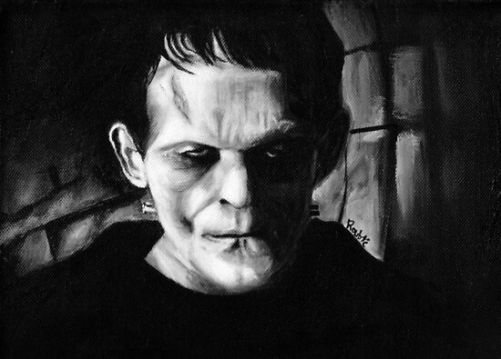 THE MONSTER of FRANKENSTEIN by ROUBLE RUST