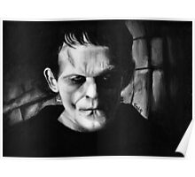 THE MONSTER of FRANKENSTEIN Poster