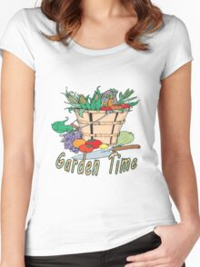 Garden Time Women's Fitted Scoop T-Shirt