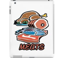 Meats iPad Case/Skin