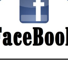 Facebook & The Social Network Ego Sticker