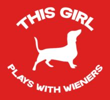 This girl plays with wieners by datthomas