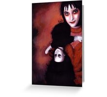 Lydia Deetz Greeting Card