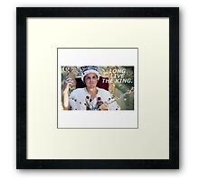 Long Live The King  Framed Print