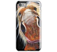 HAPPY HORSE ' ROLY-POLY' By Shirley MacArthur iPhone Case/Skin