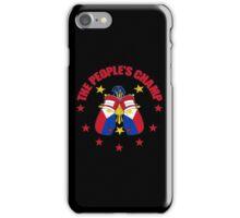 The People's Champ Boxing iPhone Case/Skin