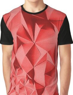 Red fractals pattern, geometric theme Graphic T-Shirt