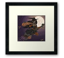 WitchyKitty Framed Print