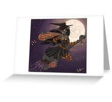 WitchyKitty Greeting Card