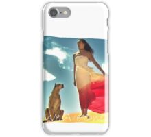 WE ARE ONE (Lady and Wild Cougar) iPhone Case/Skin