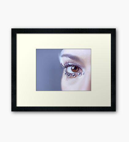 Jeweled Eye Framed Print