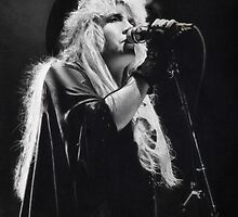 Stevie Nicks (graphite drawing) by Larry McFarland