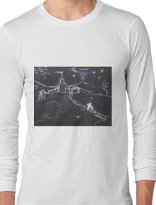KNIGHT IN SHINING ARMOUR ON A FULL MOON NIGHT(C2016) Long Sleeve T-Shirt