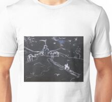 KNIGHT IN SHINING ARMOUR ON A FULL MOON NIGHT(C2016) Unisex T-Shirt
