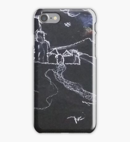 KNIGHT IN SHINING ARMOUR ON A FULL MOON NIGHT(C2016) iPhone Case/Skin