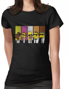 Mr Yellow Womens Fitted T-Shirt
