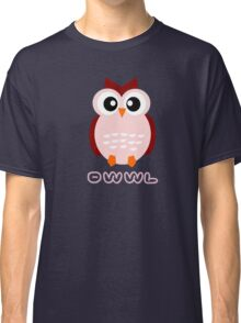 Cute Owl Sweet Nice Girl Girlfirend Woman Puffy Toy Animal Design Cartoon Gift T-Shirts Classic T-Shirt