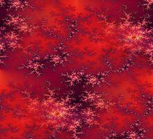 Seamless Fractal Red by Henrik Lehnerer